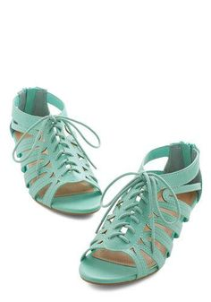 Peppy Pace Wedge, #ModCloth
