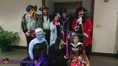 Disney Villains group costume ideas