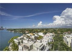 Chic 3BD/3.5BA condo Gorlin masterpiece at Aqua. Best line in building, high floor w/ amazing ocean, bay & city views. Dazzling sunrise, spectacular sunsets over the bay, ocean & Miami skyline. Completely renovated, Bizazza floors, Bulthaup kitchen, custom built-ins & wraparound terraces. Aqua has 24hr security, first class amenities. 2 pools, huge spa & gym, gated private island. 1 pet - any size.