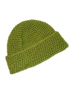 Standard Crochet Hat Pattern  (for knit-a-square)