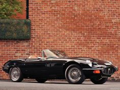 Jaguar E-type (XKE) V12 Roadster '74