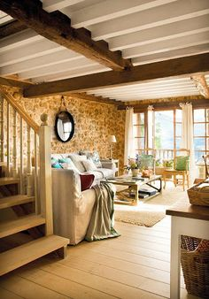 〚 Cozy mountain home with a story in Spain 〛 ◾ Photos ◾Ideas◾ Design Home Decor Bedroom, Diy Home Decor, Sweet Home, Rustic Elegance, Design Case, My Dream Home, Home And Living, Living Room, Living Area