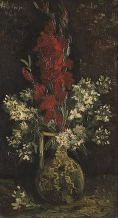 Vase with Red and White Flowers - Vincent van Gogh — Google Arts & Culture