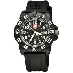 Shop for Luminox 7051 Authentic Unisex Wrist-watch with Quartz Movement, PC Carbon Reinforced Case, Non Screw Down Crown and Black Dial at discounted price with free worldwide shipping in United States