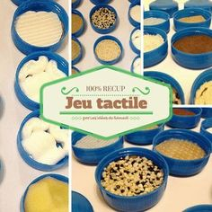 Make your own touch game while collecting, for a Montessori activity, to play with your family or for a Kermesse stand! Montessori Toddler, Montessori Activities, Therapy Activities, Infant Activities, Kindergarten Activities, Classroom Activities, Activities For Kids, Baby Activites, Kids Therapy