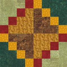 Autumn Tints Is an Easy Quilt Block That's Perfect in Fall Colors: Learn How to Make Autumn Tints Quilt Blocks