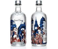 Absolut London por Jamie Hewlett