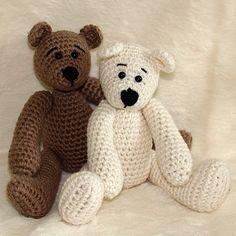 Free Easy Crochet Patterns | FREE TEDDY BEAR CLOTHES CROCHET PATTERN « CROCHET FREE PATTERNS by dianavinn