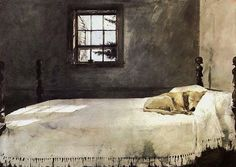 This painting is from my blog post on Winter with paintings by Andrew Wyeth. Here's the link: http://www.psychologytoday.com/blog/turning-straw-gold/201301/winter-lovers-humbuggers-and-poets-21-quotes-winter