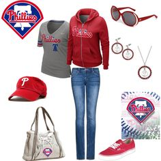 """Phillies..<3"" by beverly-keith-simpkins on Polyvore"