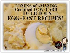 Diet Recipes Looking to lose weight FAST, get into ketosis quickly and BOOST your low-carb diet results? Then you're going to need all these egg fast recipes! Check back frequently for MORE added soon! Fast Metabolism Diet, Metabolic Diet, Low Carbohydrate Diet, Low Carb Diet, Egg Recipes, Low Carb Recipes, Diet Recipes, Healthy Recipes, Healthy Meals