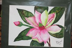 Fourth Watercolor picture that I've painted...still needs some refinement ...but I'm getting there!!