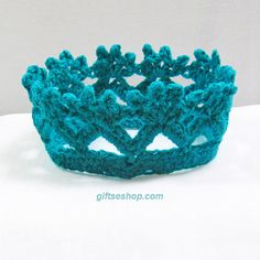 Crochet Crown Pattern – Princess or Prince Crown PDF Multiple Sizes