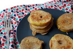 KIDS: Mini appelpannenkoekjes. Ook lekker voor grote kinderen ;-) #kidsproof #pannenkoek #snack #lunch