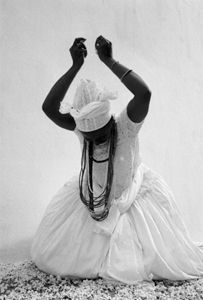 Brazil. Candomble Priestess. By Chester Higgins, Jr. copyright © Chester Higgins, Jr.