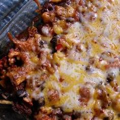 Going to have to add this to my rotation! Can't do without Mexican food!    DASH Diet Mexican Bake Allrecipes.com