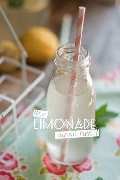 recette de limonade maison