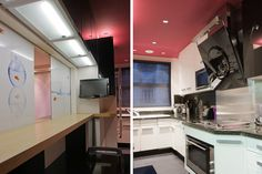 Deco cuisine rose et blanc