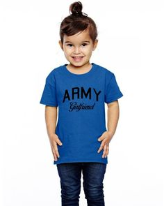 army girlfriend Toddler T-shirt