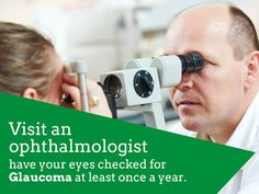 Visit An #Ophthalmologist, Have Your #Eyes Checked For #Glaucoma At Least Once A Year @ RfHospital.Org  8 possible signs of Glaucoma which you should never ignore-  1. Eye pain or discomfort while in the dark 2. Recurrent pain in or around the eyes 3. Difficulty focusing on near or distant objects 4. Sensitivity to light or glare, causing you to squint or blink frequently 5. Change in the colour of the Iris 6. Bumping into objects 7. Watery eyes 8. Seeing coloured haloes around White light