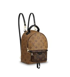 21c11095bb786 Louis Vuitton Palm Springs Mini Reverse Monogram Rare 6002 Leather Backpack  (Authentic Pre-owned
