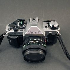 Vintage Canon AE  1 Program 35 MM Camera  50mm by ChompMonster, $39.00