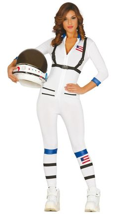Shop Space Suit Astronaut Fancy Dress Costume Womens (Women: Free delivery and returns on eligible orders of or more. Astronaut Outfit, Sexy Nurse Costume, Costume Dress, Group Fancy Dress, Space Costumes, Leia Star Wars, Rihanna Photos, Cosplay Girls, Costume Ideas