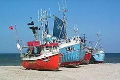 North Sea Fishing boats, Denmark