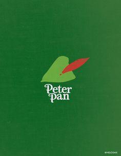 Minimalist Movie Poster: Peter Pan by nelos on DeviantArt - illustrations Marvel Movie Posters, Disney Movie Posters, Minimal Movie Posters, Film Posters, Peter Pan Wallpaper, Disney Minimalist, Minimalist Poster, Minimalist Art, Minimalista Disney
