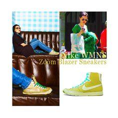 Katie McGrath - Nike WMNS Zoom Blazer Sneakers