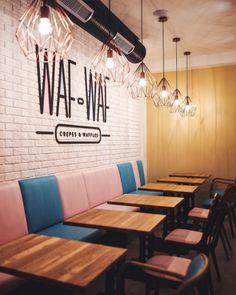 Barevný svět vaflí a palačinek. Vítejte ve Waf-Waf | Insidecor - Design jako životní styl