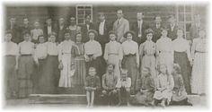 Union County, Blairsville, GA. Music Pioneers. Singing School Class Union County, Georgia, 1909