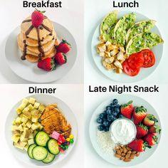 Healthy Meal Prep, Healthy Snacks, Healthy Eating, Healthy Recipes, Clean Eating, Healthy Breakfasts, Keto Meal, Paleo Diet, Healthy Life