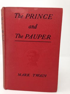 The Prince And The Pauper by Mark Twain - 1909 by CellarDeals on Etsy