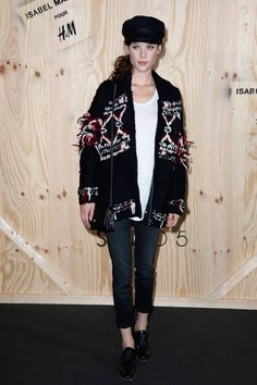 Isabel Marant and H&M Party in Paris