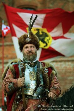Polish noble / cavalry officer. 17th century. Gniew, Poland.