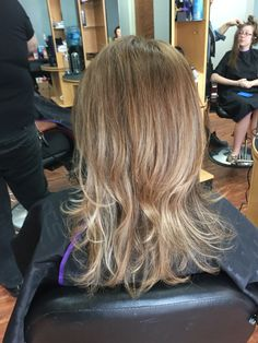 Natural brown with mild Balayage   Sombre  #redkenobsessed #redkenready #haircolor  By Mel at Kisner's' Salon