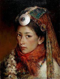 """唐伟民 (Tang Wei Min), """"远方"""" (""""Distant"""")"""