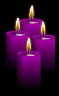 Las velas moradas  debemos encenderlas para conseguir una buena salud, conseguir éxito en nuestros proyectos y cuando pretendamos unir a las personas o unirnos nosotros mismos a alguien.
