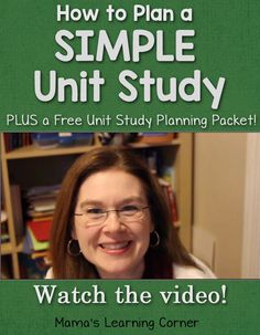 How to Plan a Simple Unit Study plus a free unit study planning packet! I include my plans for our History of Thanksgiving Unit Study. Study Planner, Free Planner, Kindergarten Books, Homeschool Curriculum, Homeschooling Resources, Teacher Resources, Unit Plan, Home Schooling, Lesson Plans