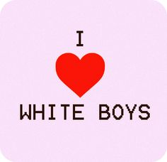 Black Girl White Boy Love