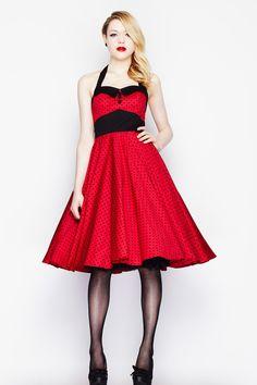 Robe Pin-Up Rockabilly 50's Rétro Pois Ashley - Robe - Vetements Femme - Tous nos Produits, ma robe de mariage pour le 7 juin!!
