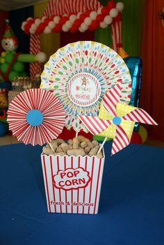 Circus Birthday Party Ideas | Photo 23 of 25 | Catch My Party