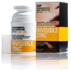 """Invisible Zinc,  """"This stuff is AMAZING … I can't sing enough praises about this extraordinary cream … I had sun damanged skin on my chest … 3 weeks of using this and my skin changed … everyone was asking me if I had botoxed my chest !!! na … just this miracle cream in a little bottle had my skin looking like it was baby skin again … ♥ this stuff !!!"""" [sic]  If that wasn't convincing enough, it's to this product's testament that it's from Au…"""