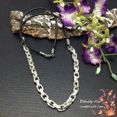 """Halskette """"Silberdream"""" #0924 von Hobby-Fun auf DaWanda.com"""
