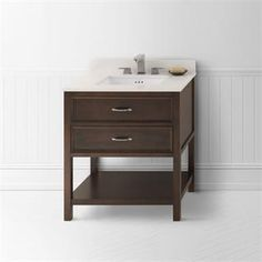 """Check out the RonBow 052730 Newcastle 30"""" Wood Vanity Cabinet with One Functional Drawer priced at $884.00 at Homeclick.com."""