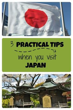 Japan is an amazing travel destination - here are 3 practical Japan travel tips with ideas how to stay on budget - food, attractions and more