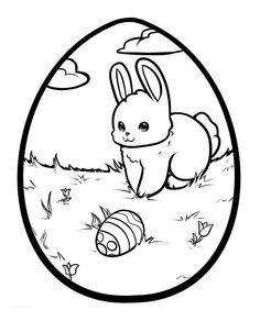 Cute Easter Bunny Coloring Pages Printable - Awesome Cute Easter Bunny Coloring Pages Printable, Christmas Bunny Coloring Pages Cute Easter Bunny Lps Christmas