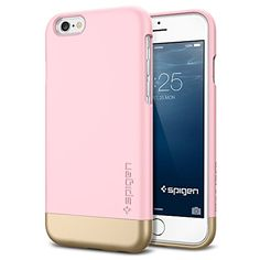 iPhone 6 Case, Spigen® [Safe Slide] iPhone 6 (4.7) Case Protective [Style Armor] [Sherbet Pink] SOFT-Interior Scratch Protection Metallic Finished Base with Dual Layer Protection Slim Trendy Hard Case for iPhone 6 (4.7) (2014) - Sherbet Pink (SGP11044) Spigen http://www.amazon.com/dp/B00LL6979C/ref=cm_sw_r_pi_dp_PMimub0K4BPPD