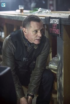 Voight - 3x12 I love the sign by his head, I noticed that the first time I watched the episode.
